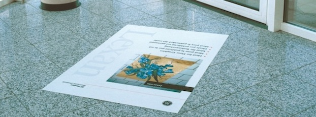SABIC products for Floor & Trade Show Graphics